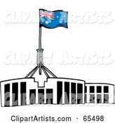 Vector Australia Clipart by Dennis Holmes Designs