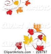 Vector Autumn Clipart by Pushkin