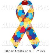 Vector Awareness Ribbon Clipart by Inkgraphics