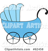 Vector Baby Carriage Clipart by Rogue Design and Image