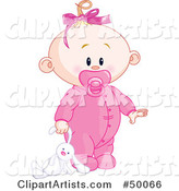 Vector Baby Clipart by Pushkin