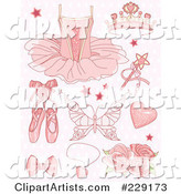 Vector Ballet Clipart by Pushkin