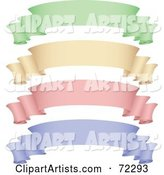 Vector Banner Clipart by Cidepix