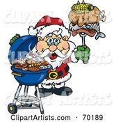 Vector Barbecue Clipart by Dennis Holmes Designs