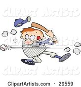 Vector Baseball Clipart by Gnurf