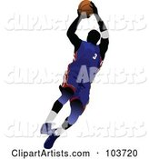 Vector Basketball Clipart by Leonid