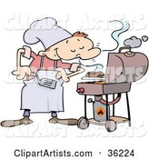 Vector Bbq Clipart by Gnurf