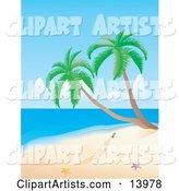 Vector Beach Clipart by Rasmussen Images