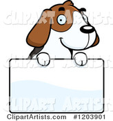 Vector Beagle Clipart by Cory Thoman