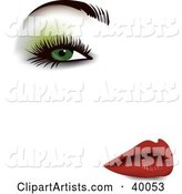 Vector Beauty Clipart by Eugene