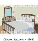 Vector Bedroom Clipart by Mheld