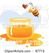 Vector Bee Clipart by Qiun