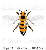 Vector Bee Clipart by Vectorace