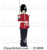 Vector Beefeater Clipart by Leonid