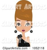 Vector Beehive Hair Clipart by Designbella