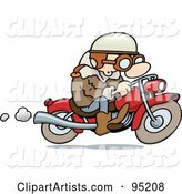 Vector Biker Clipart by Gnurf
