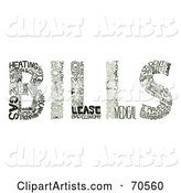 Vector Bills Clipart by Arena Creative