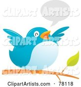Vector Bird Clipart by Qiun