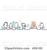 Vector Birthday Clipart by NL Shop
