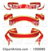 Vector Blank Banners Clipart by Vectorace