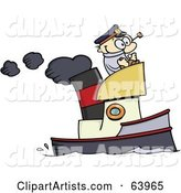 Vector Boat Clipart by Gnurf