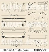 Vector Borders Clipart by Vectorace