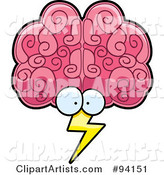 Vector Brain Clipart by Cory Thoman