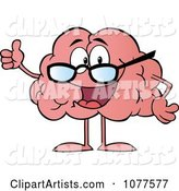Vector Brain Clipart by Hit Toon