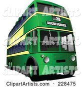Vector Bus Clipart by Leonid