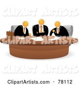 Vector Business Meeting Clipart by Qiun