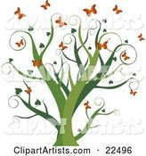 Vector Butterflies Clipart by Tonis Pan