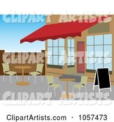 Vector Cafe Clipart by Mheld