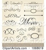 Vector Calligraphy Clipart by Vectorace