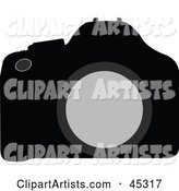 Vector Camera Clipart by JR