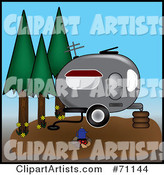 Vector Camping Clipart by Rogue Design and Image