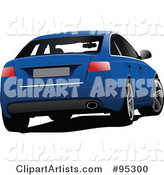 Vector Car Clipart by Leonid