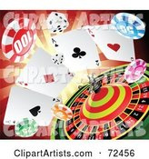 Vector Casino Clipart by Cidepix