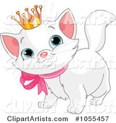 Vector Cat Clipart by Pushkin
