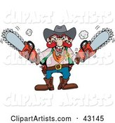 Vector Chainsaw Clipart by Dennis Holmes Designs