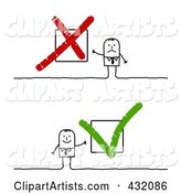 Vector Check Mark Clipart by NL Shop
