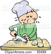 Vector Chef Clipart by Gnurf