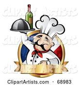 Vector Chef Clipart by TA Images