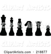 Vector Chess Clipart by JR