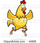 Vector Chicken Clipart by Cory Thoman