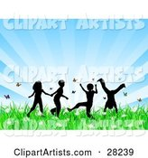 Vector Children Clipart by KJ Pargeter