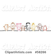 Vector Children Clipart by NL Shop