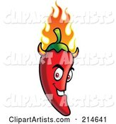 Vector Chili Pepper Clipart by Cory Thoman