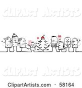 Vector Christmas Clipart by NL Shop