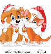 Vector Christmas Clipart by Pushkin