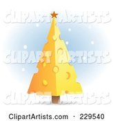 Vector Christmas Tree Clipart by Qiun